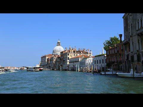 Impressionen Venedig - mit dem Wassertaxi quer durch Venedig