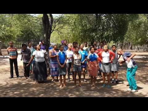 Chor der Ombili-Stiftung Namibia
