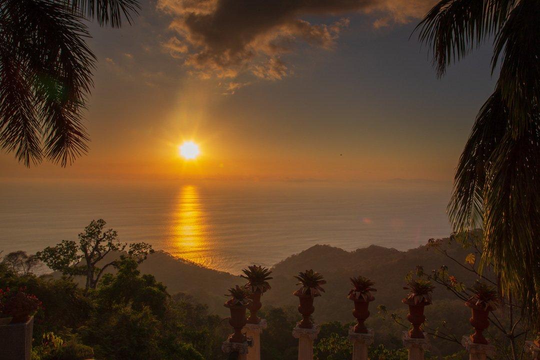 Sonnenuntergang Villa Caletas Costa Rica