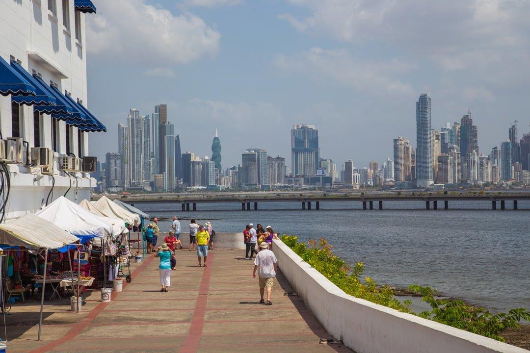 Altstadt Finanzzentrum Panama City
