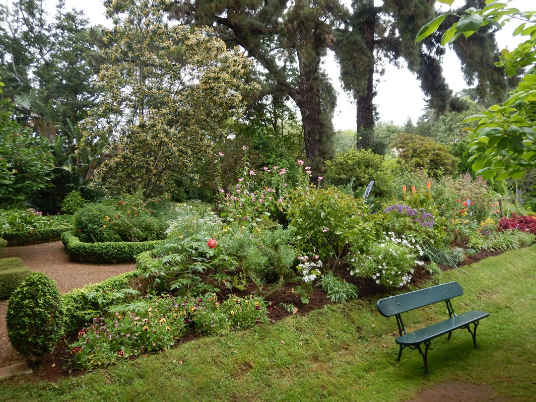 Garten von Quinta do Palheiro Funchal Madeira