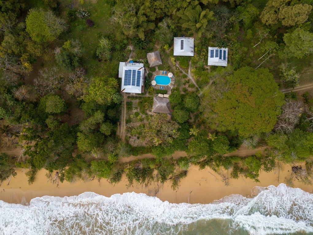 Hummingbird Hotel Bocas del Toro Bluff Beach Panama