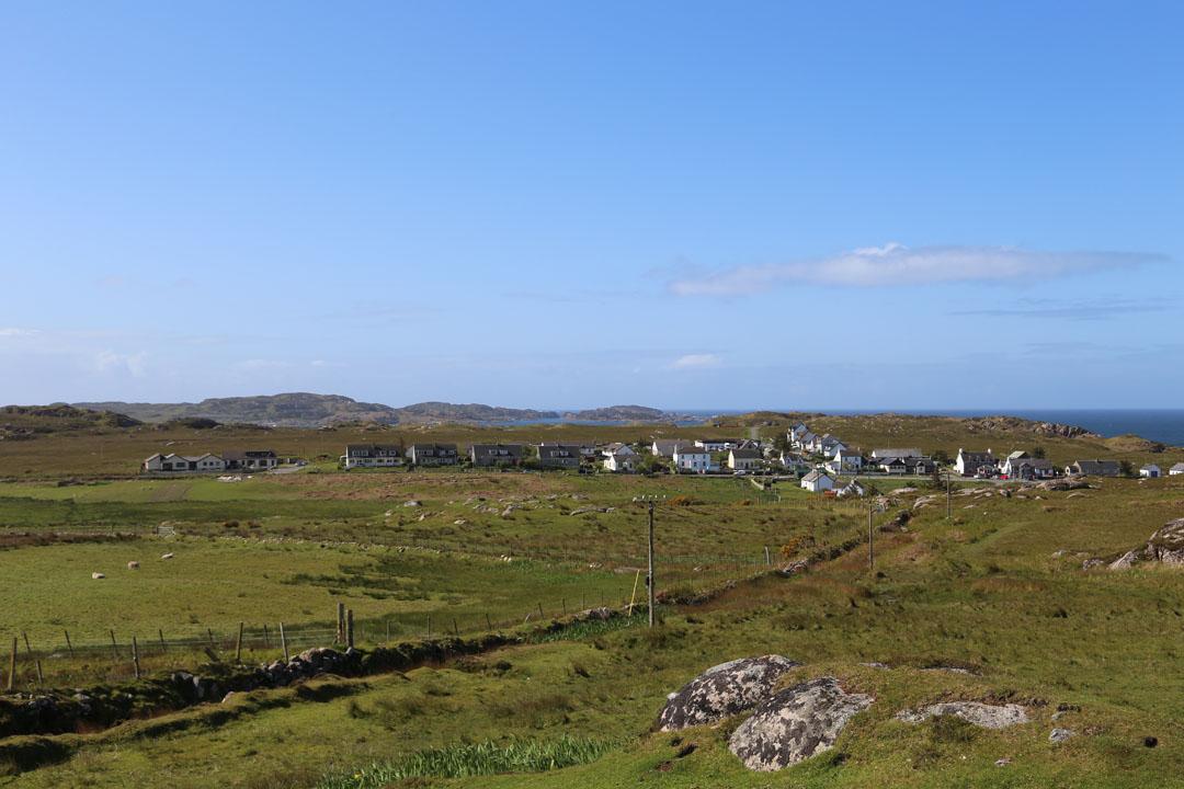 Fionnphort Isle of Mull Schottland