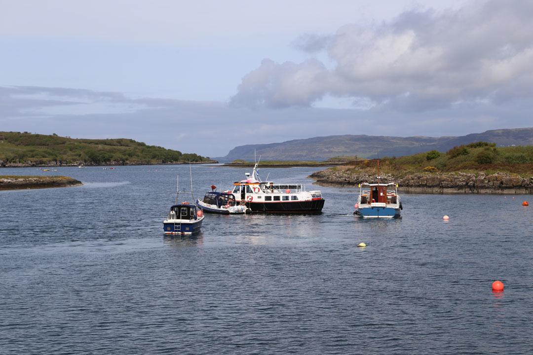Hafen Isle of Ulva Schottland
