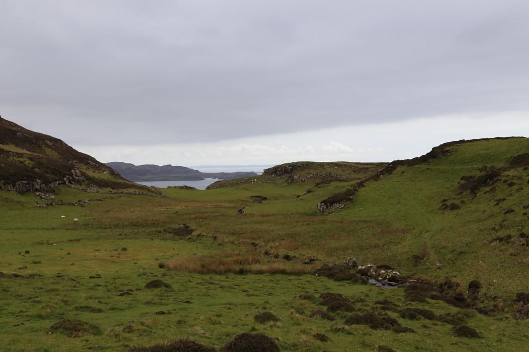 Wanderung Treshinsh Halbinsel, Isle of Mull, Schottland
