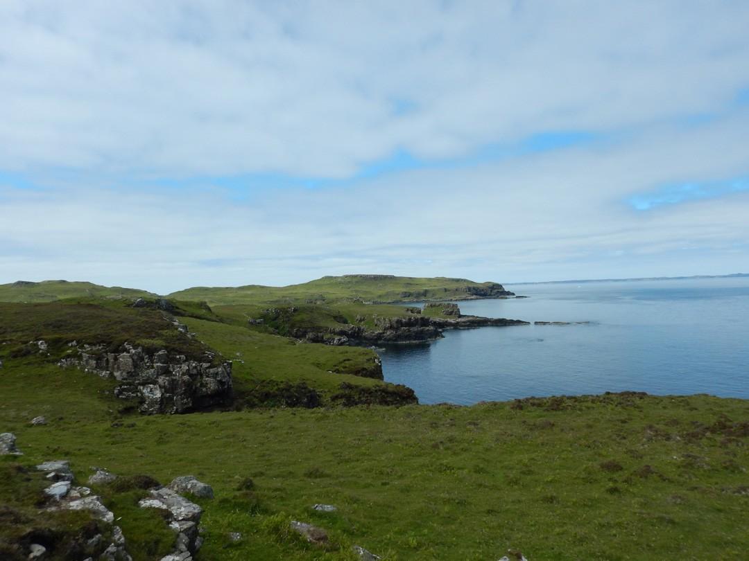 Wanderung Sunipol nach Callach Point Isle of Mull Schottland
