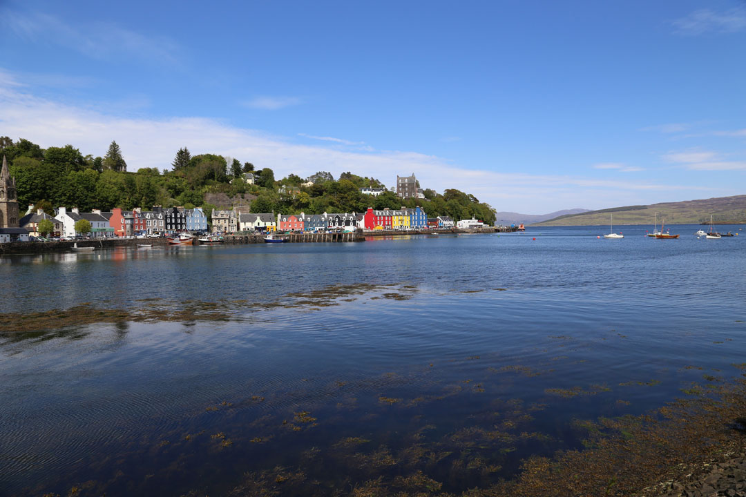Farbige Häuser prägen Tobermory, Isle of Mull