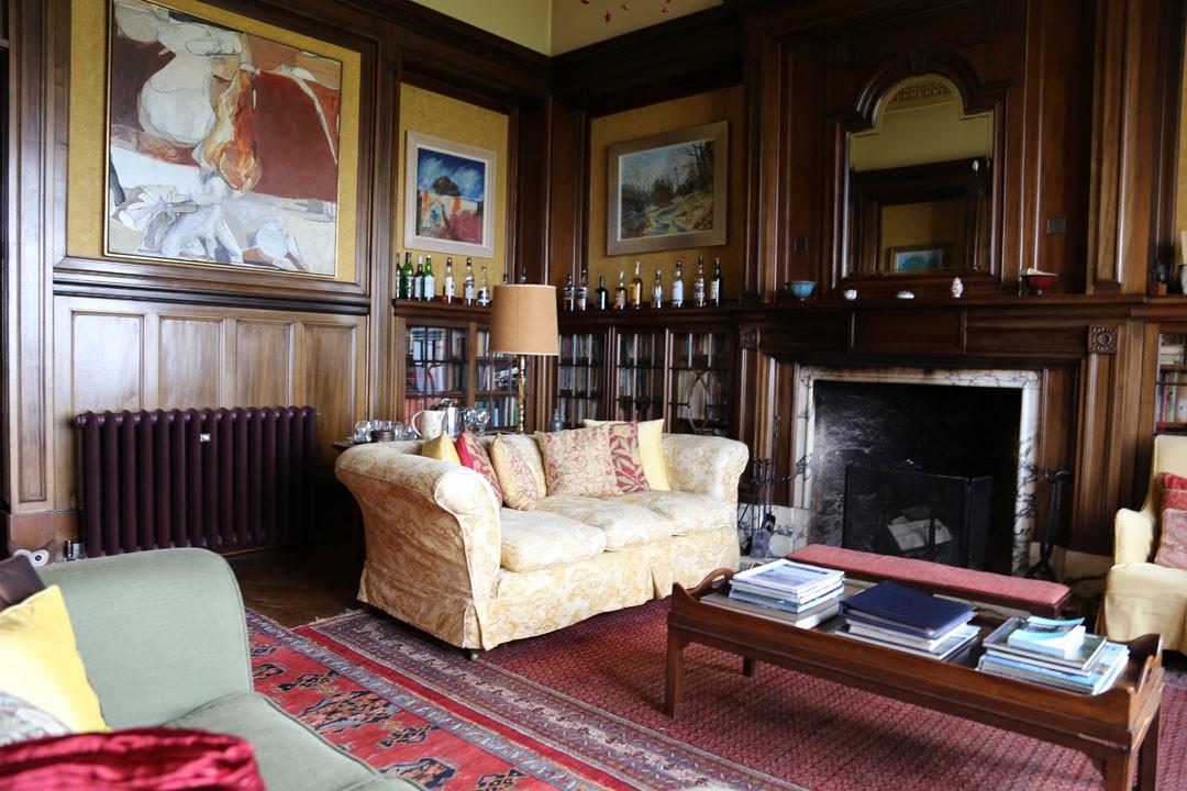 Bibliothek Glengorm Castle Isle of Mull