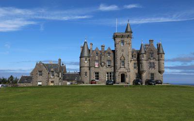 Glengorm Castel einmal in einem Schloss übernachten