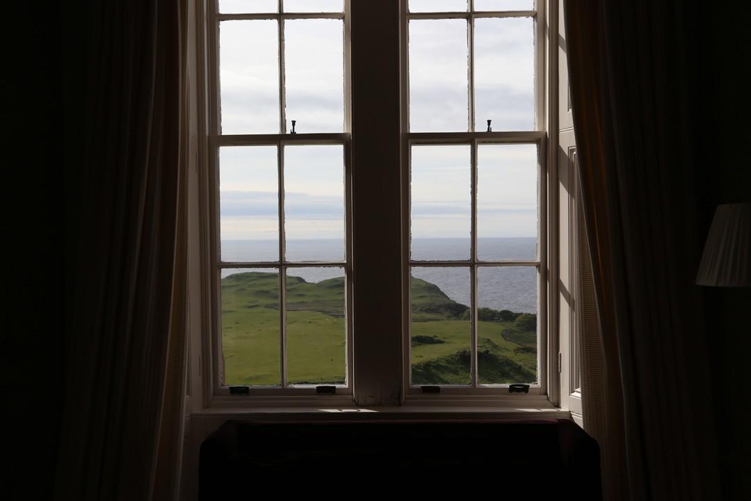 Blick aus Glengorme Castle