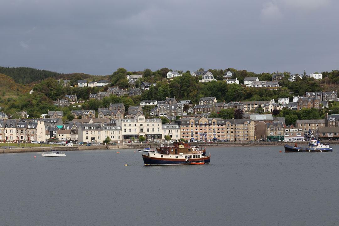 Fährhafen Oban nach Isle of Mull