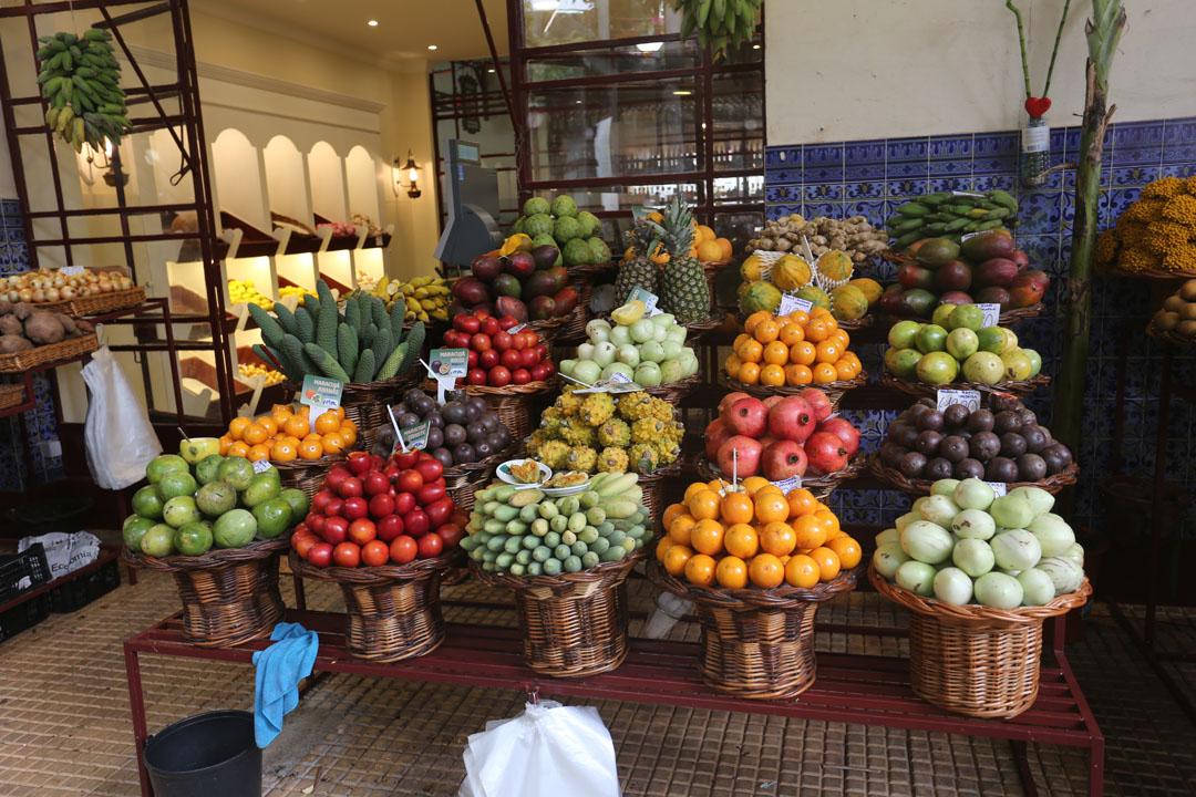 Funchal Markthalle Mercado dos Lavradores