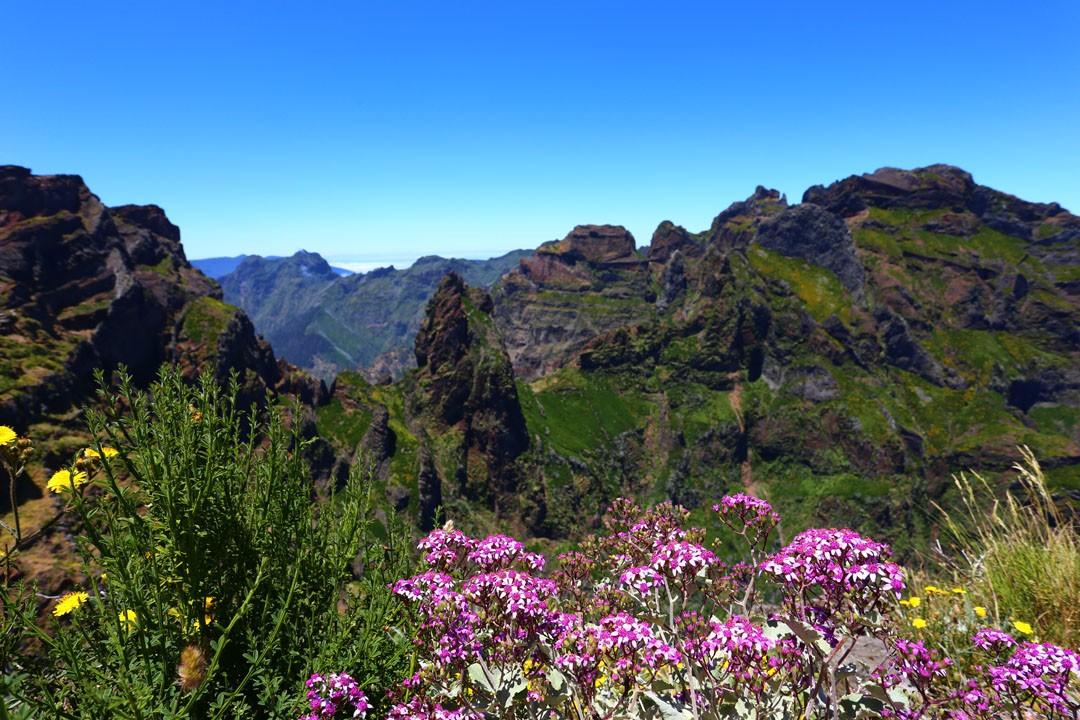 Pico do Arieiro Aussichtsplattform Madeira