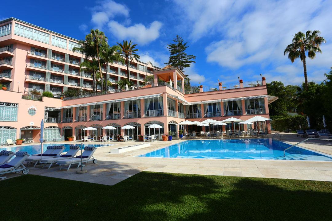 Reids Palace Poolanlage Funchal Madeira
