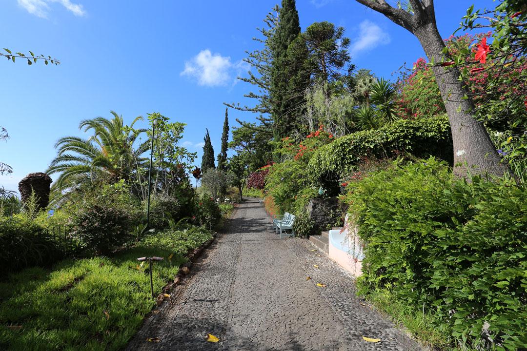 Reids Palace Gartem Funchal Madeira