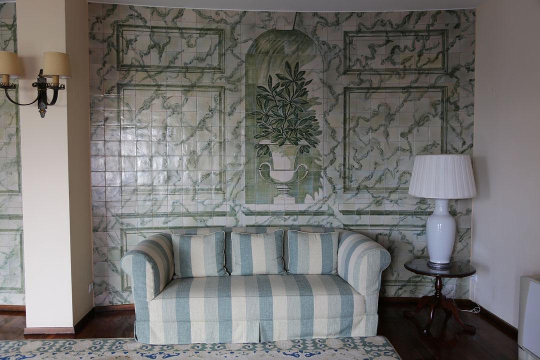 Reids Palace Innenraum Sofa Funchal Madeira
