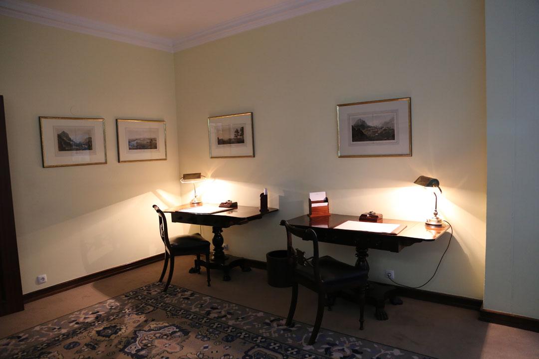 Reids Palace Innenraum Sekretär Funchal Madeira