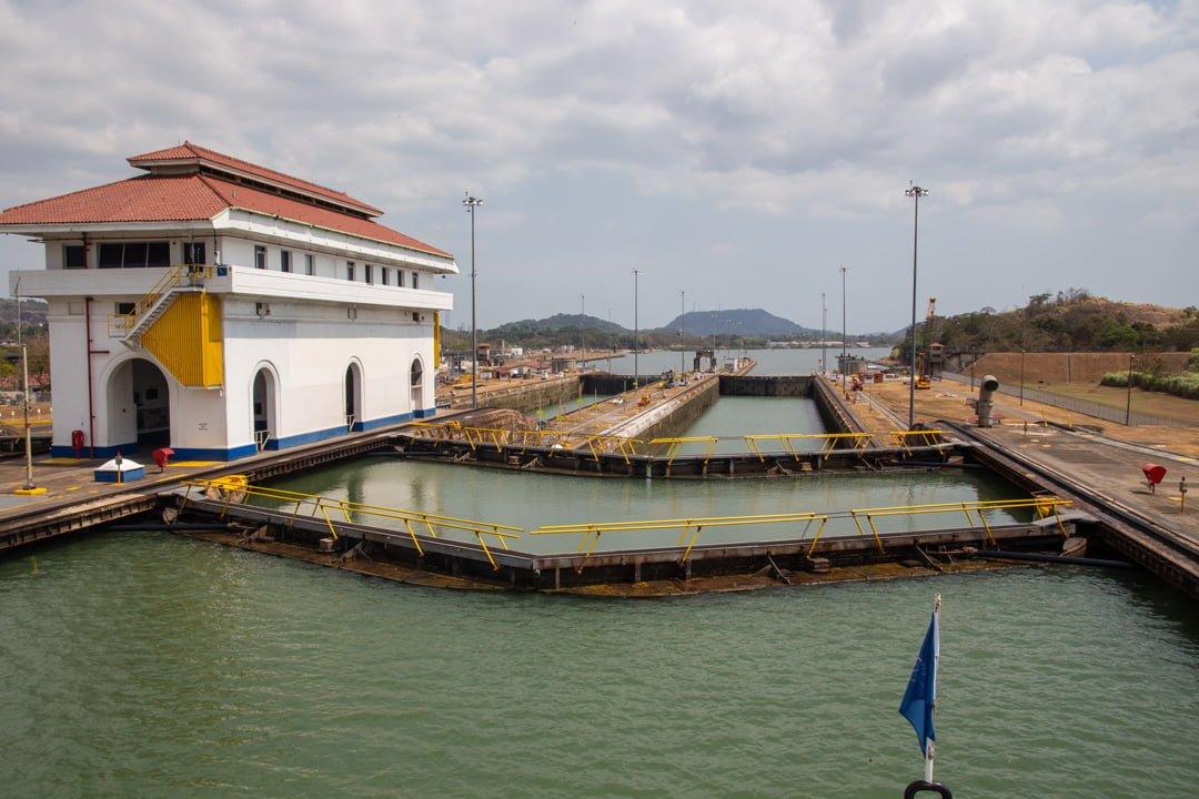 Miraflores Schleusen-Panamakanal