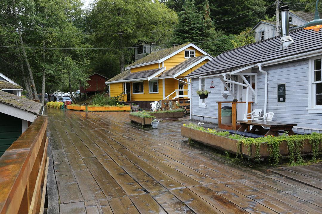 Rundreise Vancouver Island Telegraph Cove, Vancouver Island, Kanada