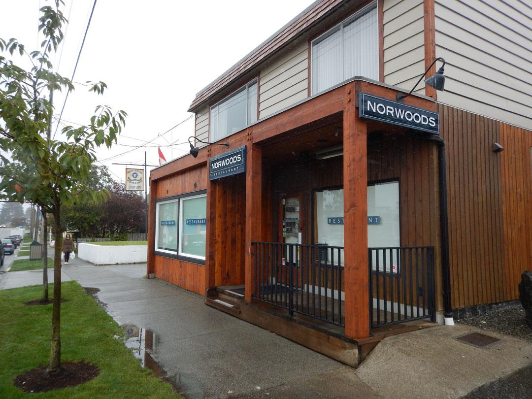 Norwoods Restaurant, Ucluelet, Vancouver Island, Kanada