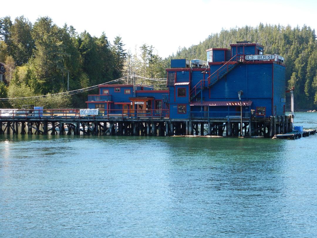 Ice House Oyster Bar Tofino Vancouver Island Kanada