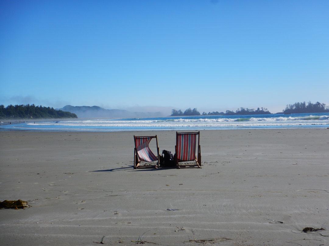 Chesterman Beach bei Tofino, Vancouver Island, Kanada