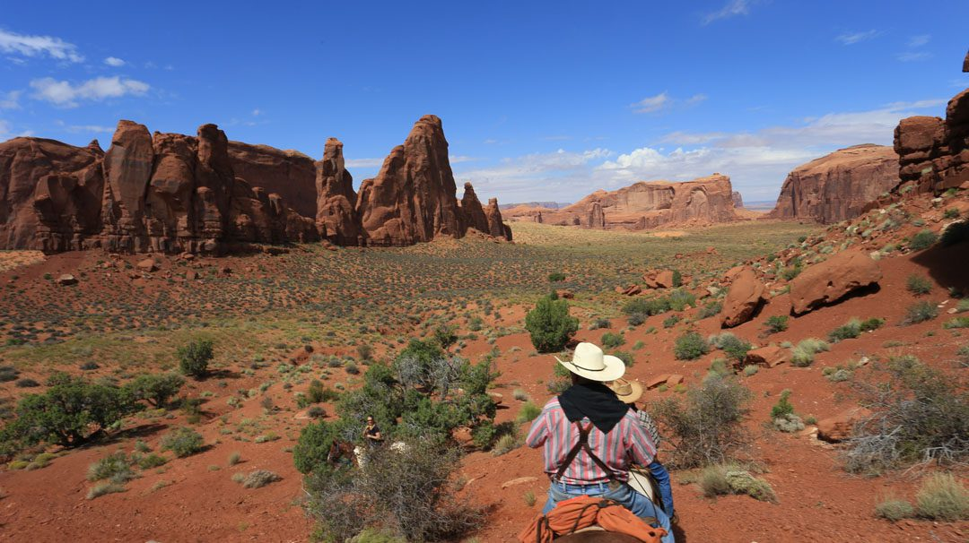 Reiten Monument Valley, Utha, USA