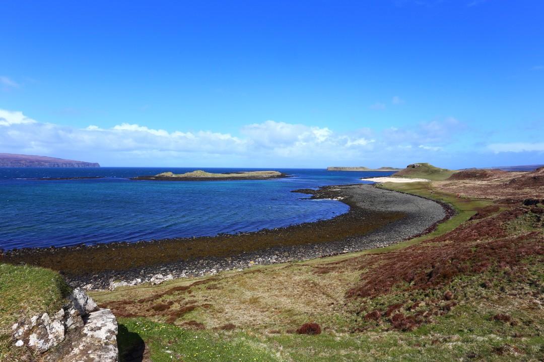 Coral Beach Isle of Skye Schottland