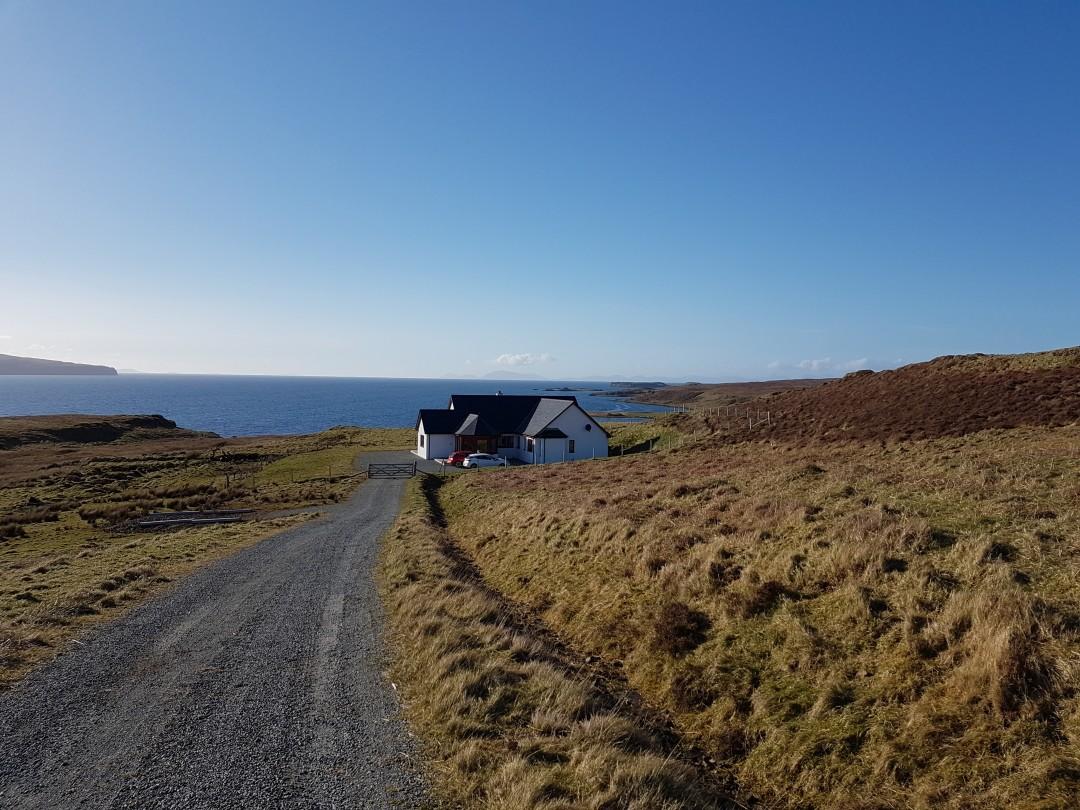 Ferienhaus nähe Dunvegan Isle of Skye Schottland