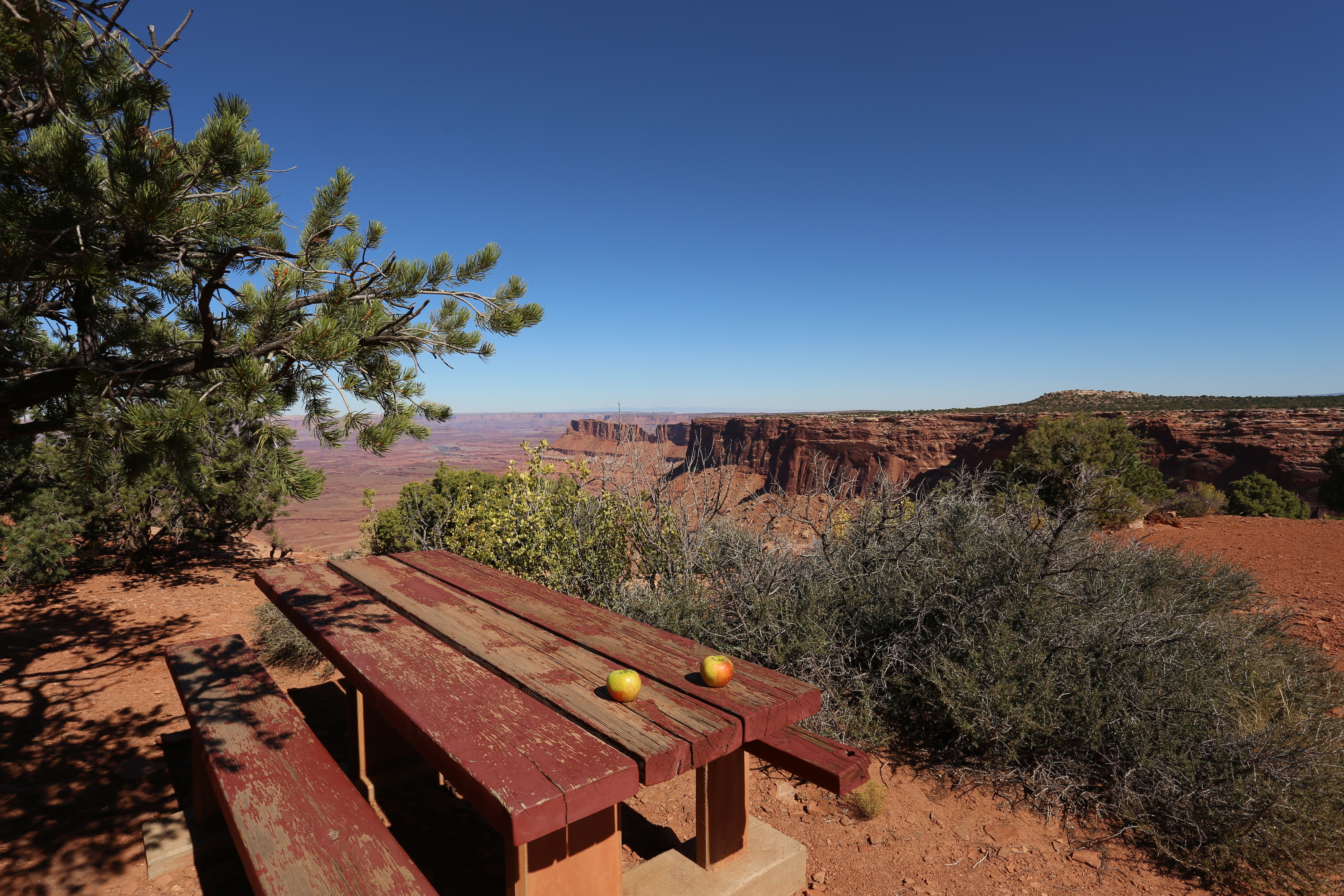 Needles Overlook Canyonlands National Park Utha