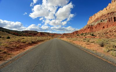 Capitol Reef Nationalpark Grand Wash Trail  – Capitol Gorge Road