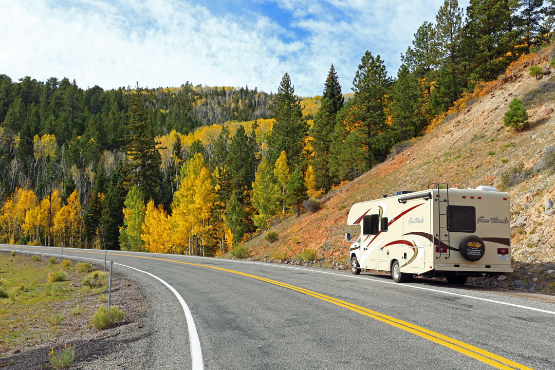 Route 12 direction Bryce Canyon Utha USA