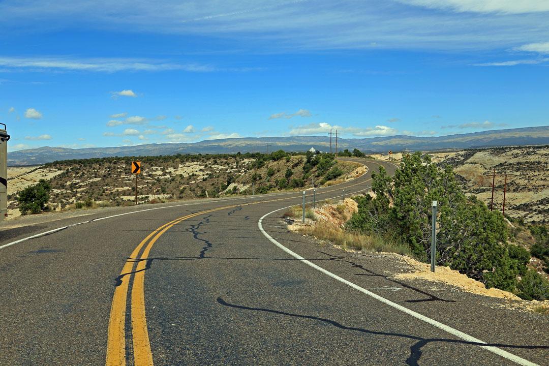 Bryce Canyon und Lower Calf Creek Falls via Route 12 Utha USA