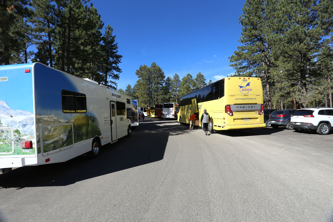 Parkplatz Bryce Canyon Utha USA Utha USA
