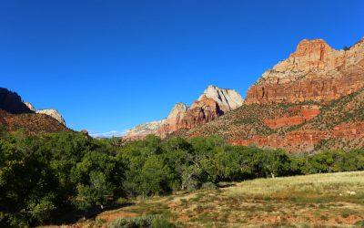 Hoffnungslos überlaufen Zion National Park
