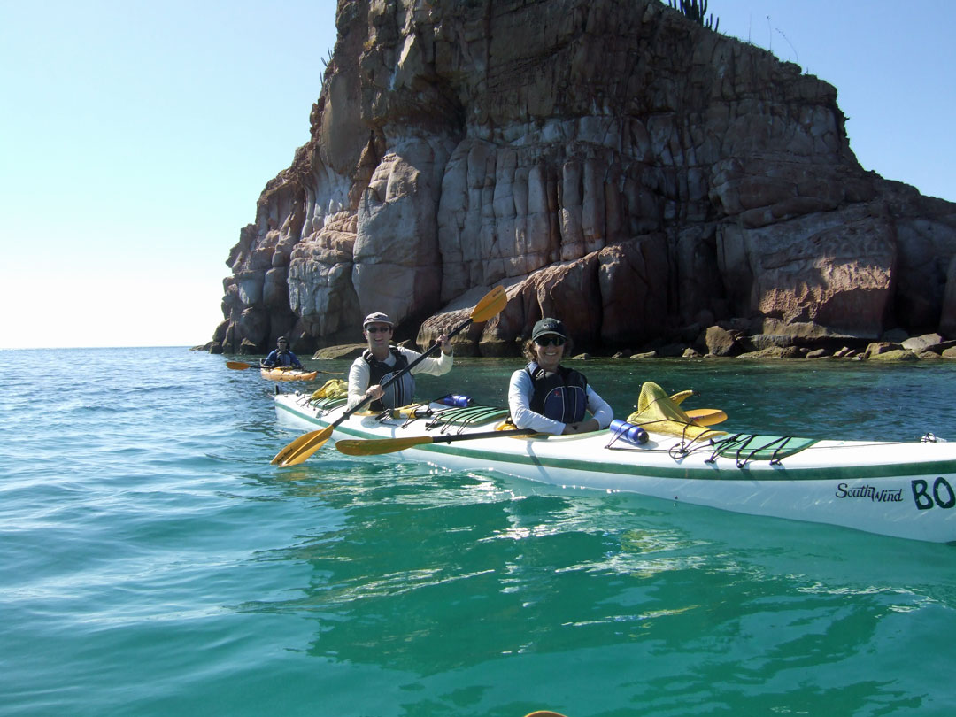 Unterwegs Sea Kayak Isla Espíritu Santo Baja California Sur Mexico