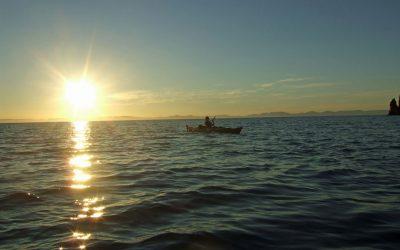 Sea Kayak Isla Espiritu Santo Baja La Paz California Sur