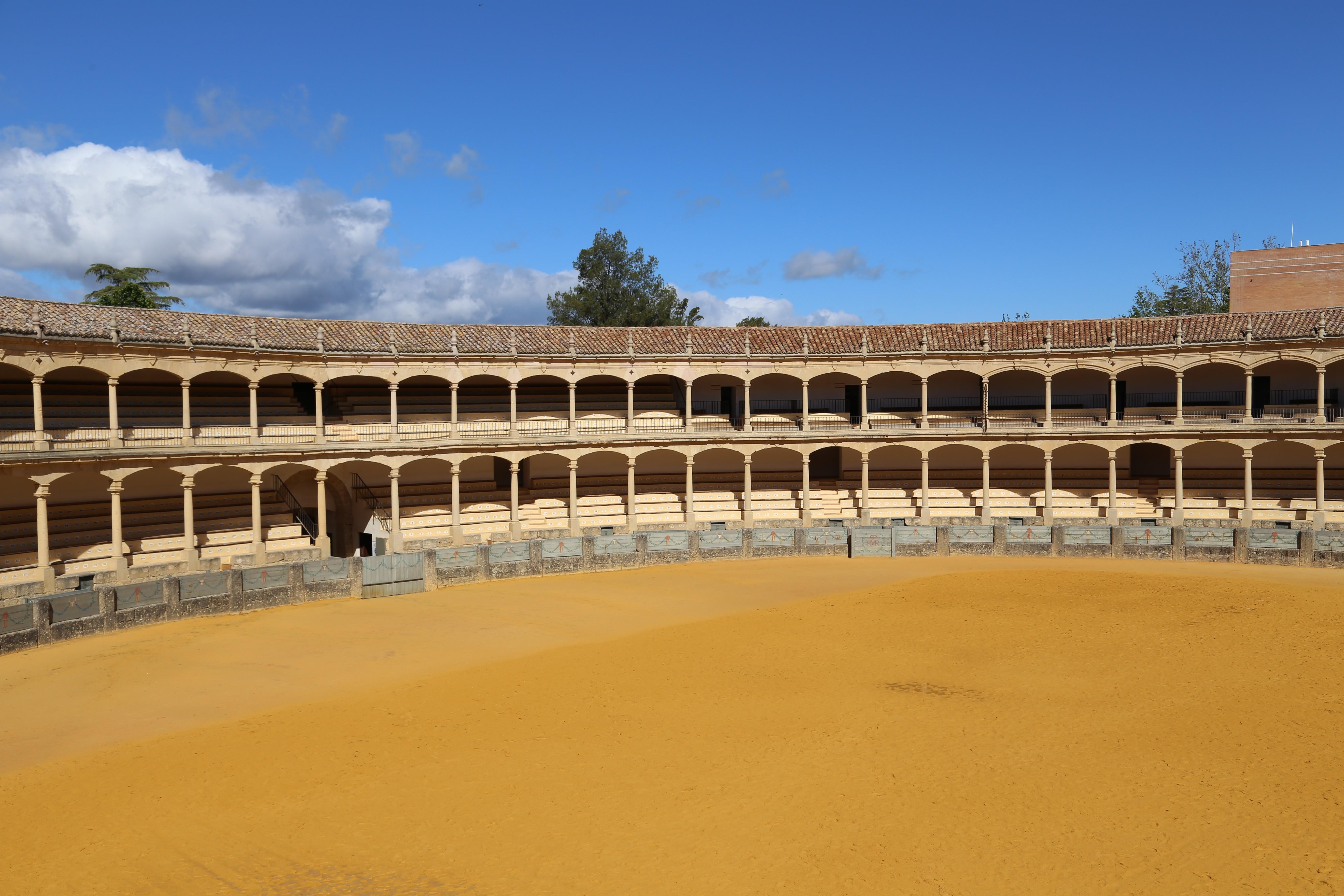 Stierkampfarena Ronda Malaga Spanien