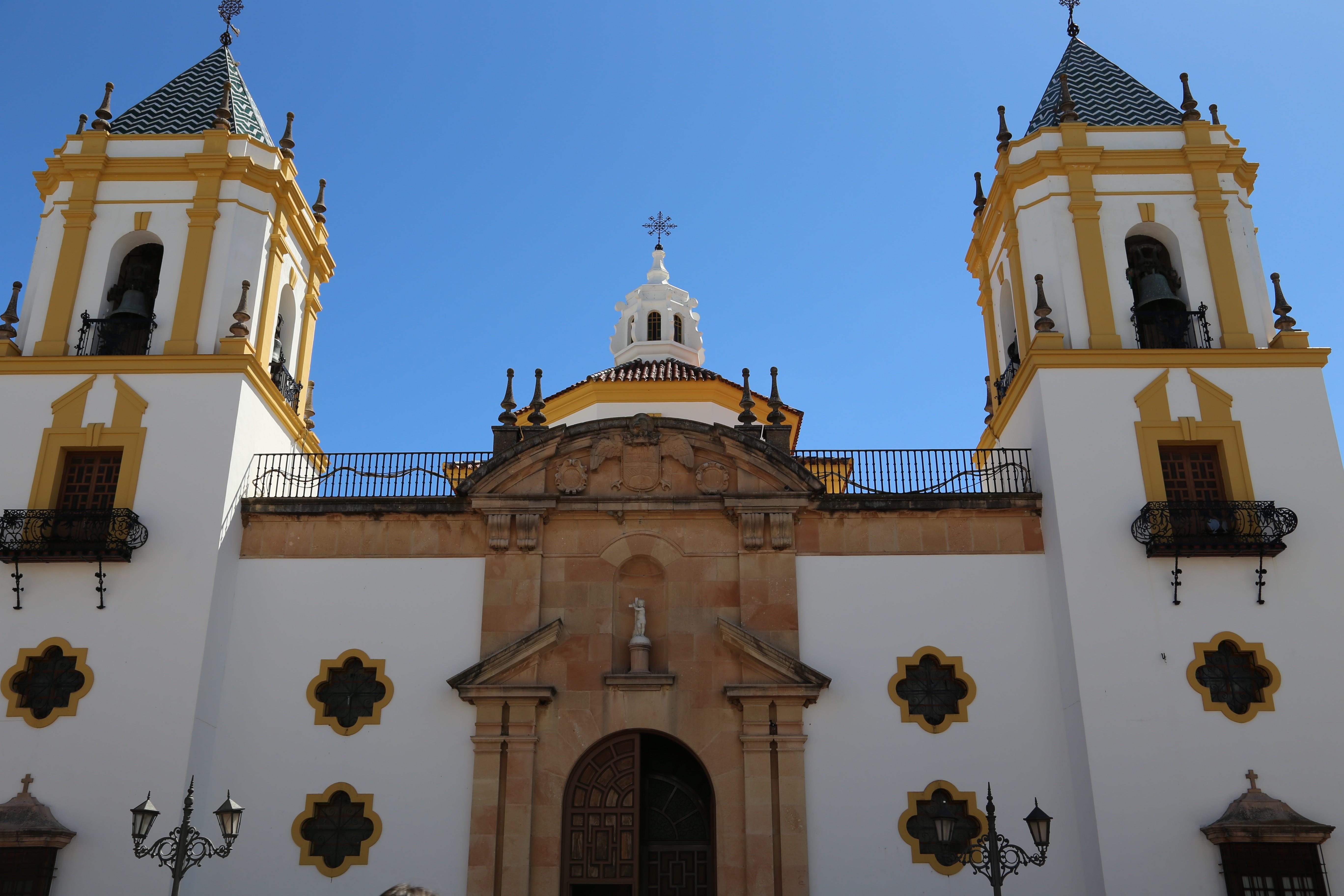 Iglesia del Socorro Ronda Malaga Spanien
