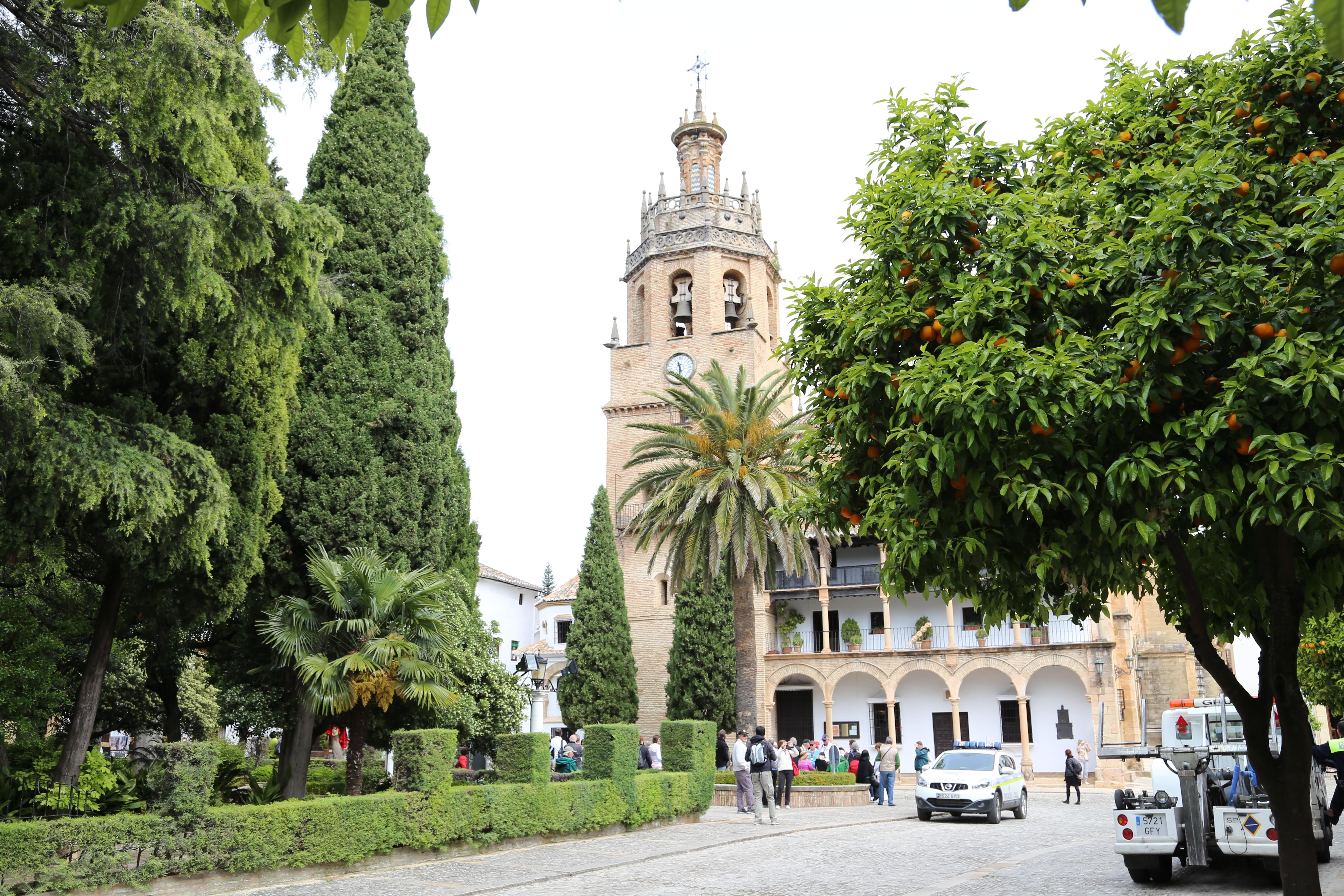 Iglesia de Santa María Ronda Malaga Spanien
