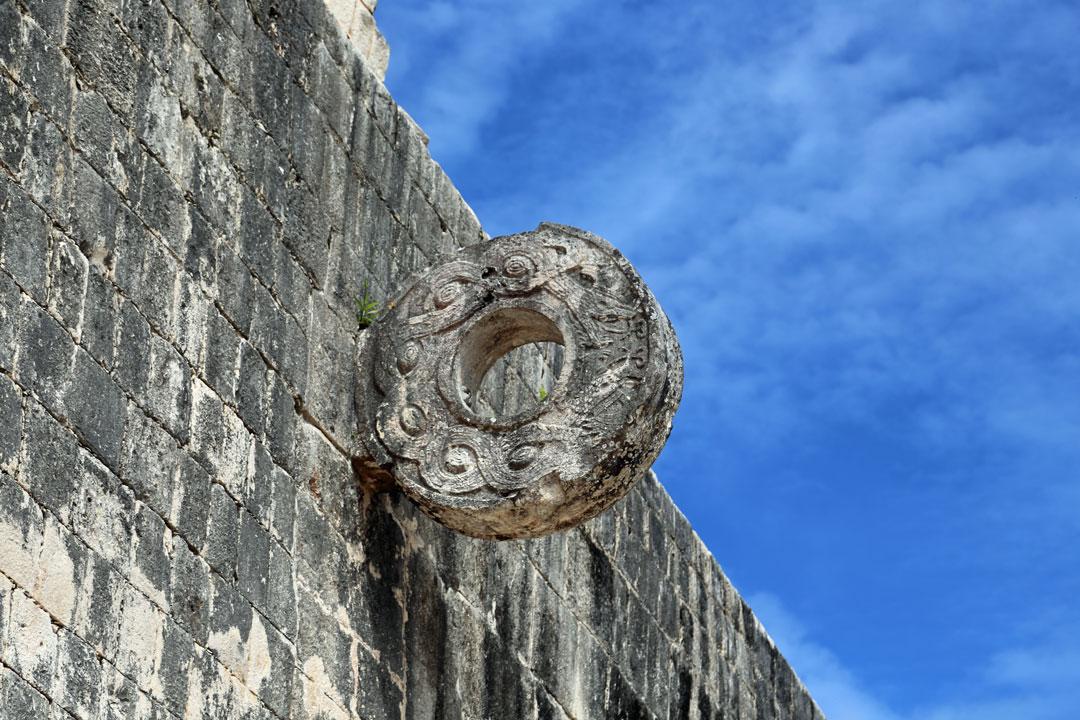 Juego de pelota Chichén Itzá Yucatan Mexico