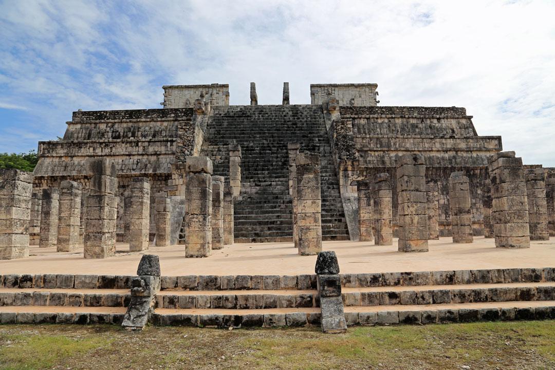 Templo de los Guerreros Chichén Itzá Yucatan Mexico