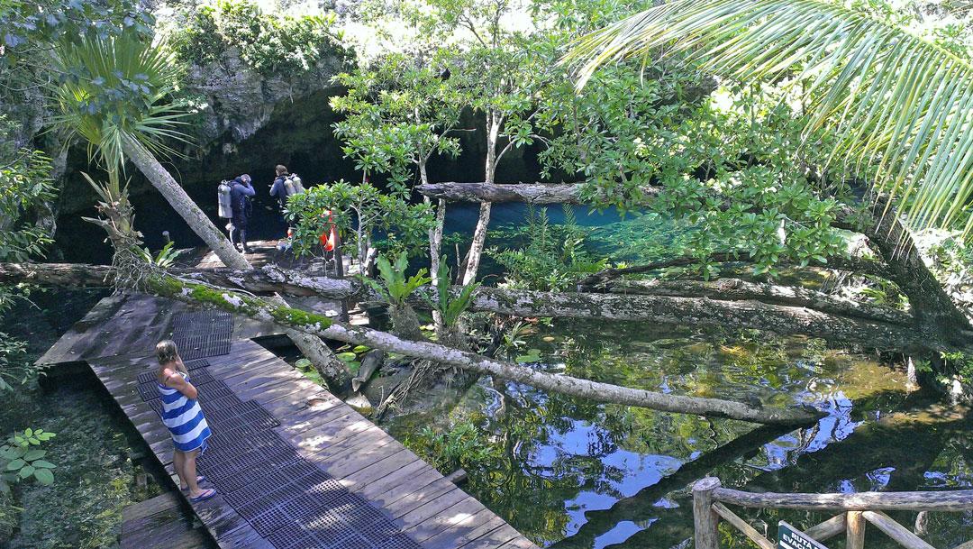 Cenote Quintano Roo Mexico