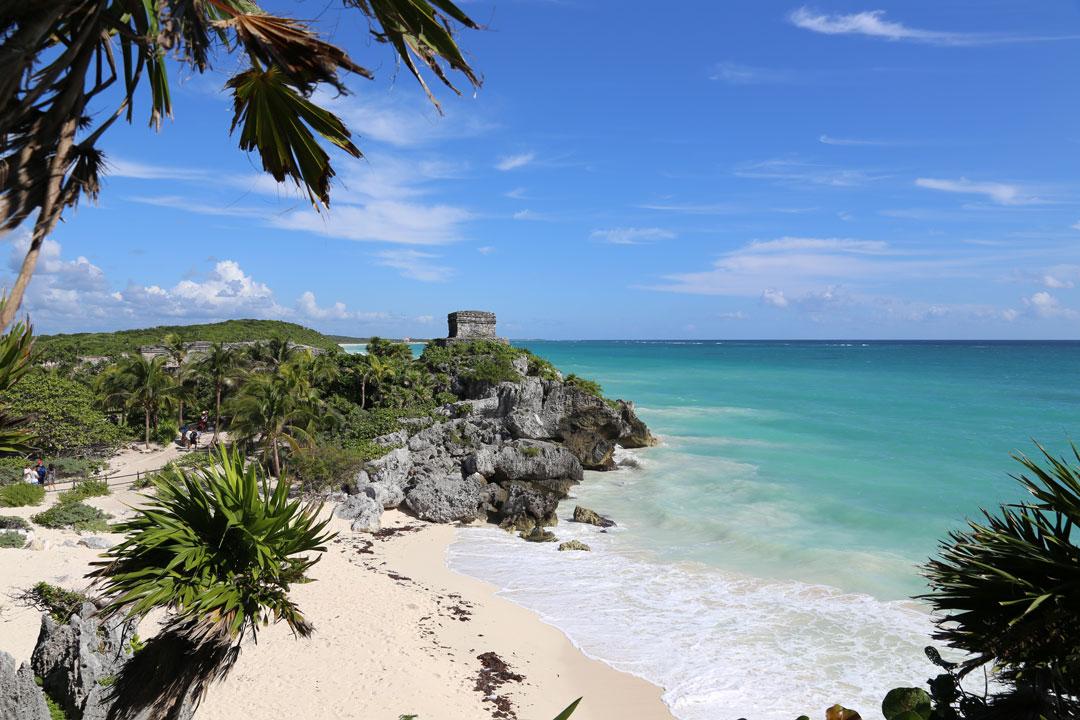Maya-Stätte Tulum Quintano Roo Mexico