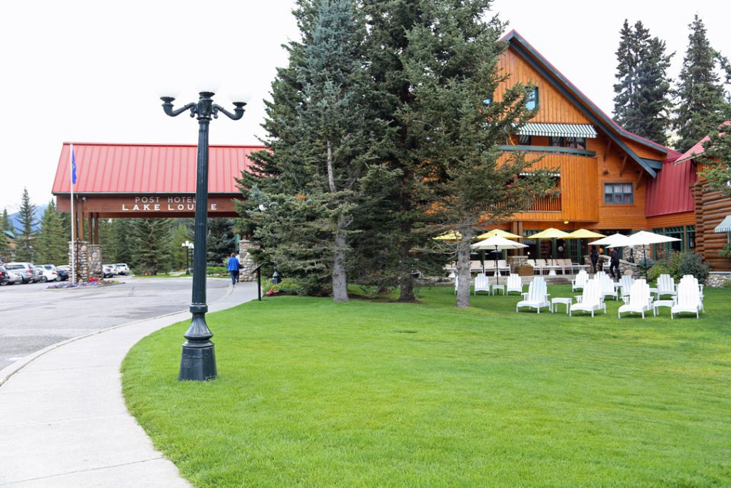 Post Hotel Lake Louis Rocky Mountain Kanada