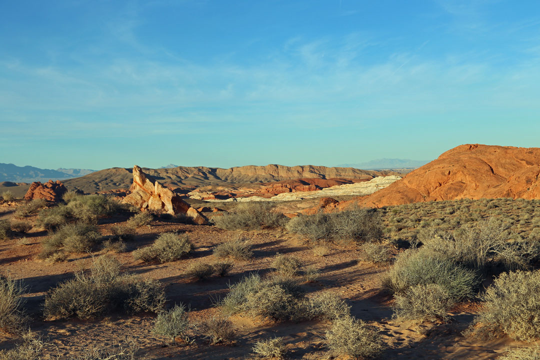 Scenic Drive Valley of Fire Park Nevada USA