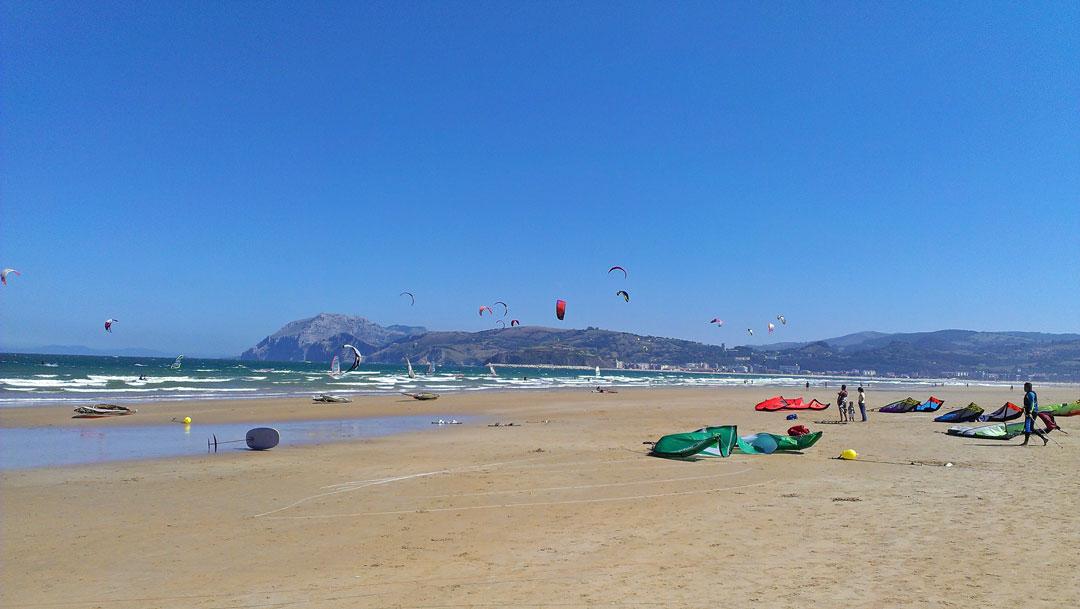 Playa del la Salve Kantabrien Spanien