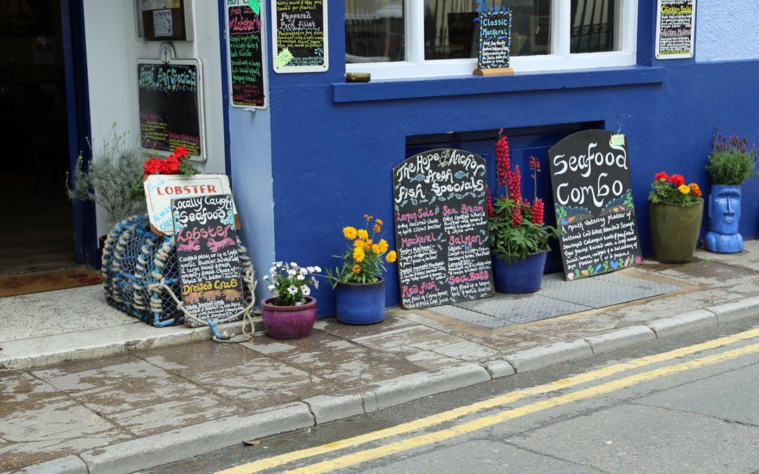 Eine Woche Wales Region Pembrokeshire