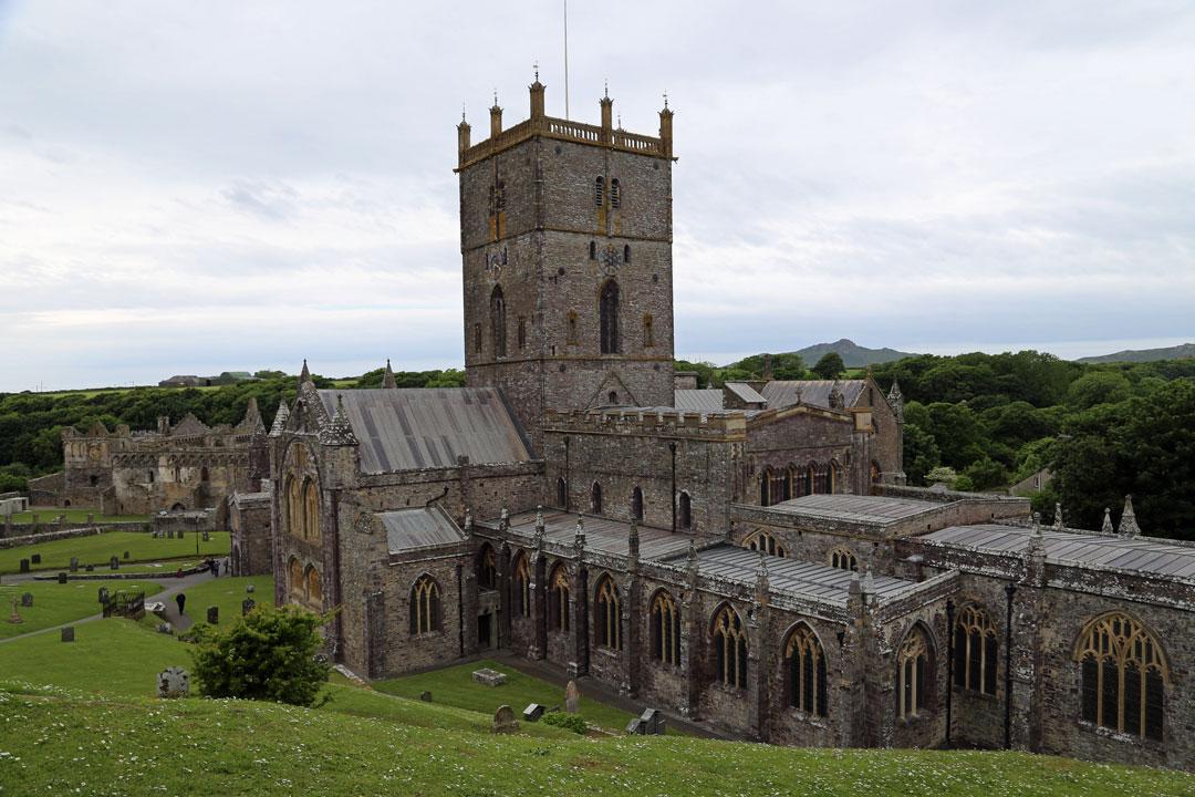 Kathedrale von St Davids Wales