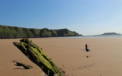 Eine Woche Wales Gower-Halbinsel